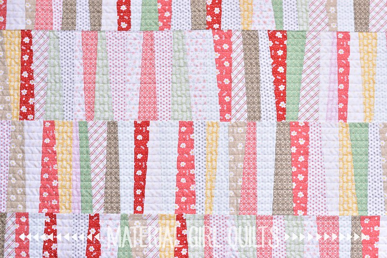 Emma & Myrtle's Farmhouse quilt by Amanda Castor of Material Girl Quilts
