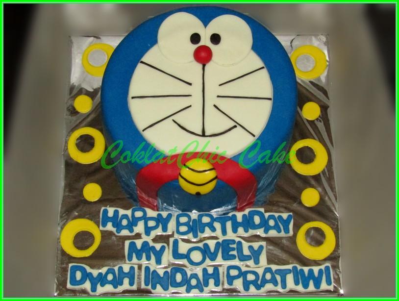 Cake Doraemon DYAH INDAH 15cm