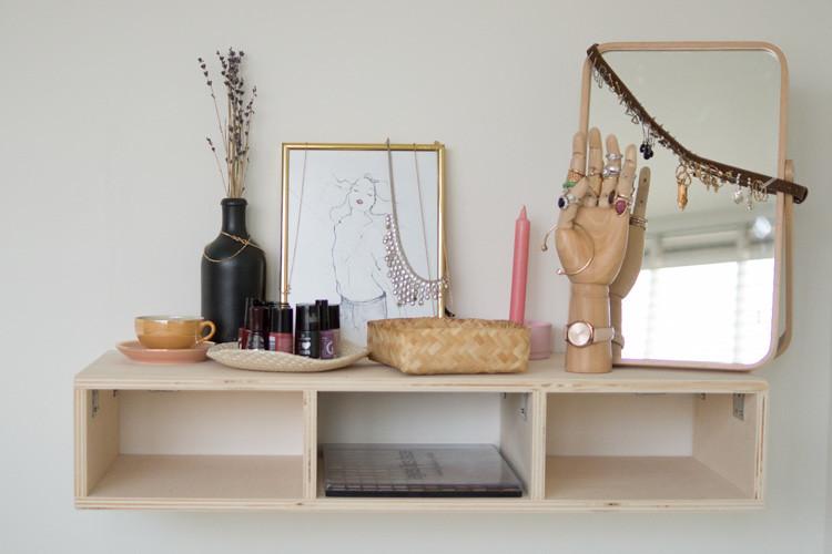 Heleen Schrijvershof - simpele DIY - oorbellen ophangen - riem-11