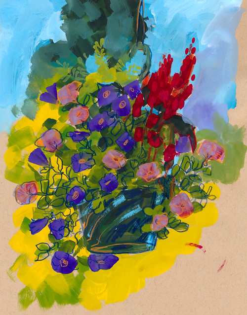 Sketchbook #109: Gouache