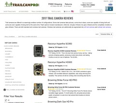 2017 TRAIL CAMERA REVIEWS
