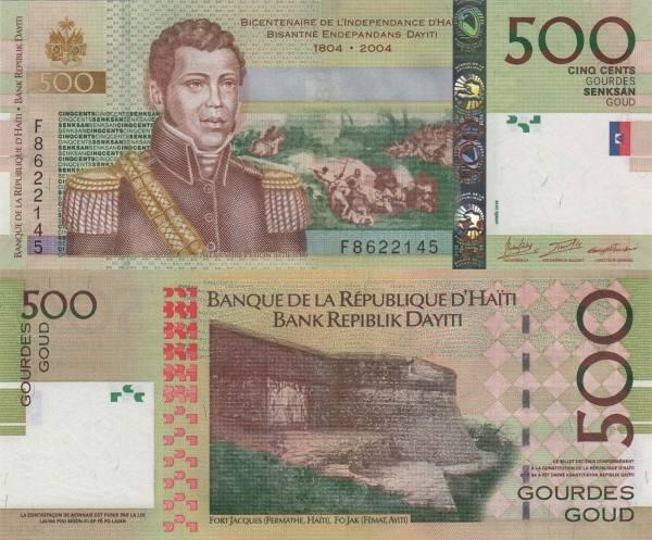 500 Gourdes Haiti 2016, P277f