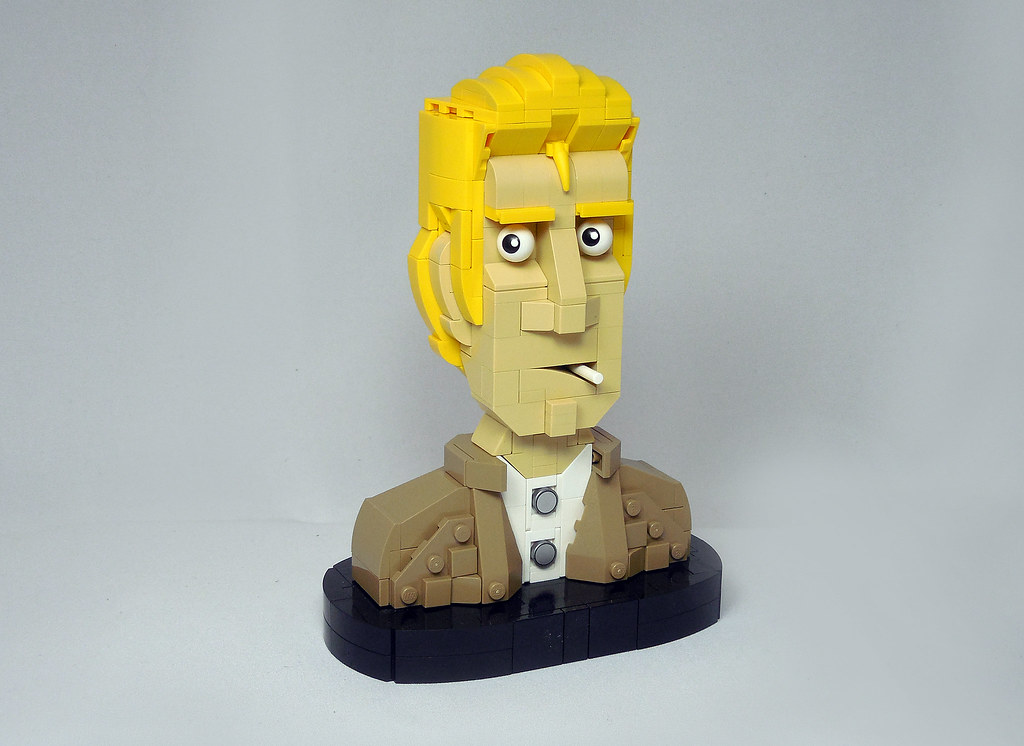 LEGO® MOC by Vitreolum: John Constantine Bust