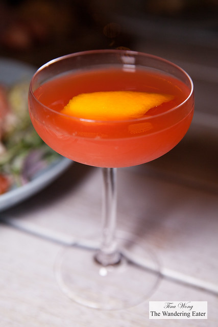 Smoke Show - Del Maguey Vida Mezcal, Aperol, .Blood Orange, Lime, .Orange Bitters
