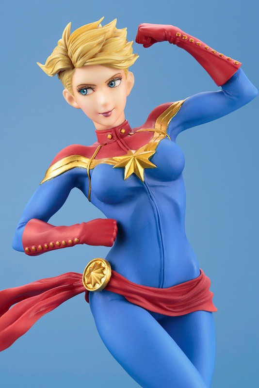 頂著一頭俏麗短髮甜美現身!!壽屋 MARVEL美少女 系列【驚奇隊長】Captain Marvel キャプテン・マーベル