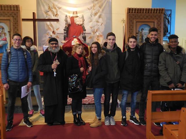 Les élèves du lycée Georges Lamarque ont visité plusieurs lieux de culte