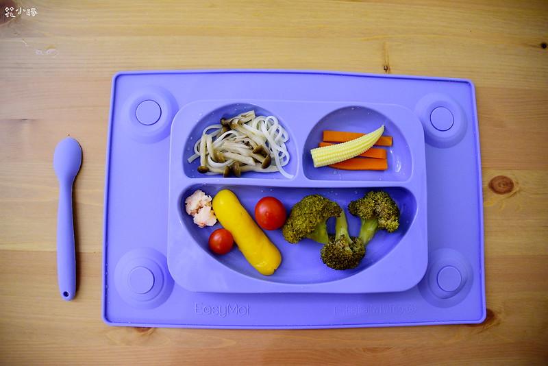 easymat餐盤防拔嬰兒餐具吸盤嬰兒餐具推薦嬰兒副食品餐具推薦EasyMat防滑矽膠餐盤 (16)