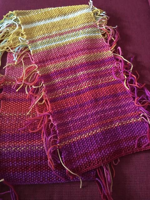 Tempestry inspired knitting
