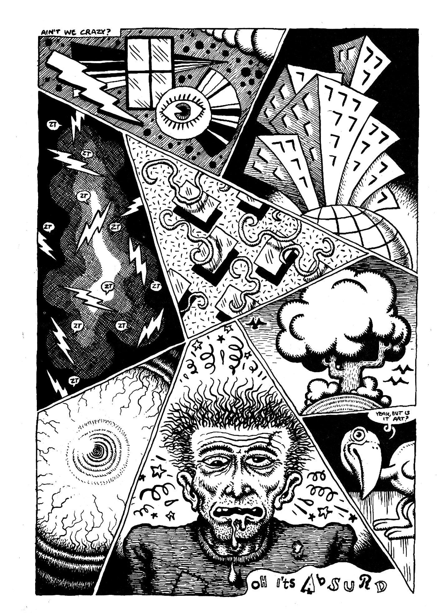 Robert Crumb - XYZ Comics - Страница 9