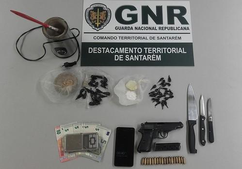 GNR Santarém - Apreensão