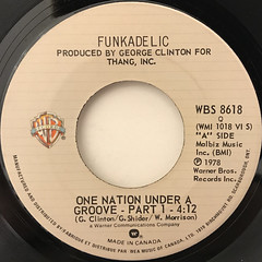 FUNKADELIC: ONE NATION UNDER A GROOVE(LABEL SIDE-A)