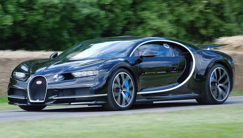 Bugatti ChironBugatti Chiron, salah satu mobil paling berdaya tinggi tahun 2017.