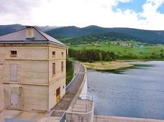 Barrage de Puyvalador, Capcir, Pyrénées Orientales
