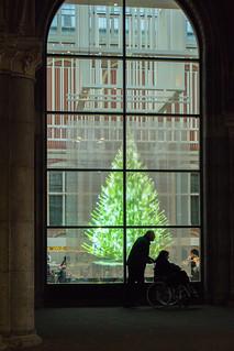 Holographic Christmas Tree.Rijksmuseum Holographic Christmas Tree Pete Martin Flickr