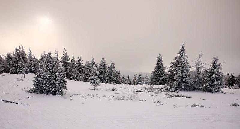 Wielka Racza zimą