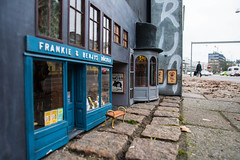 Frankie & Benjys bookstore and theatre Reggiano