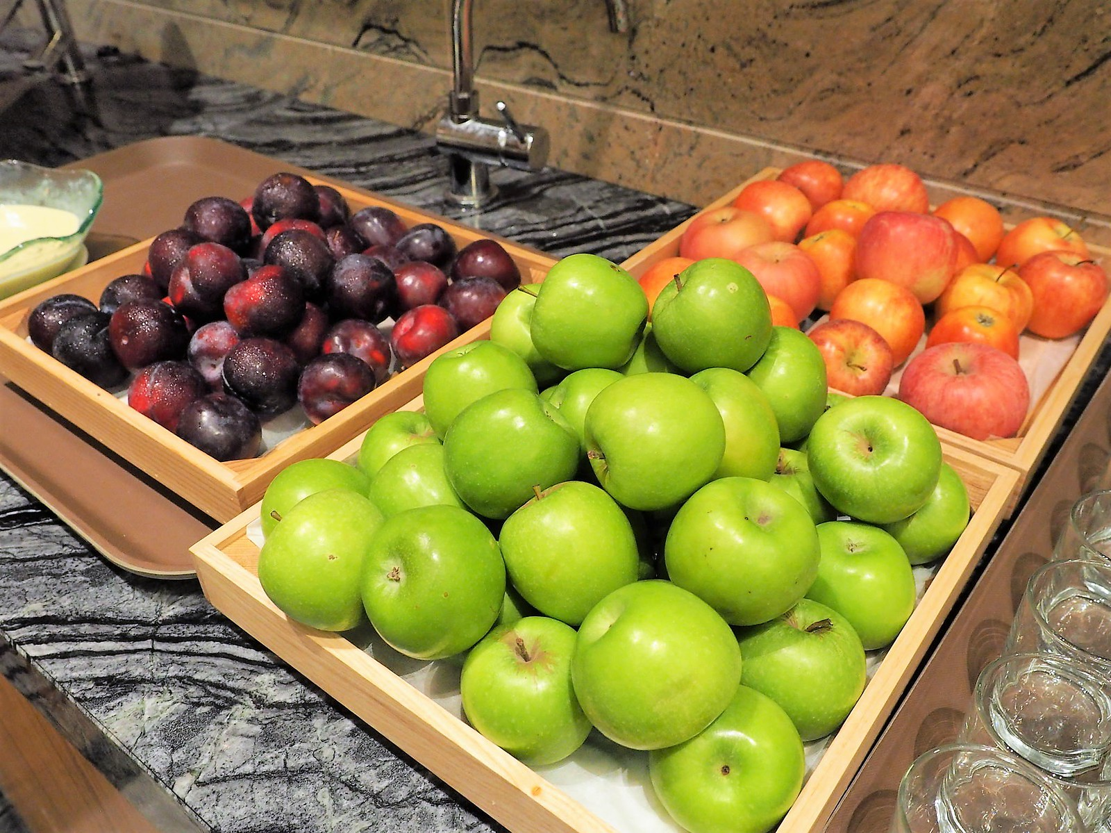 Apple and other fruits
