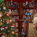 Presents Climb the Bookcase
