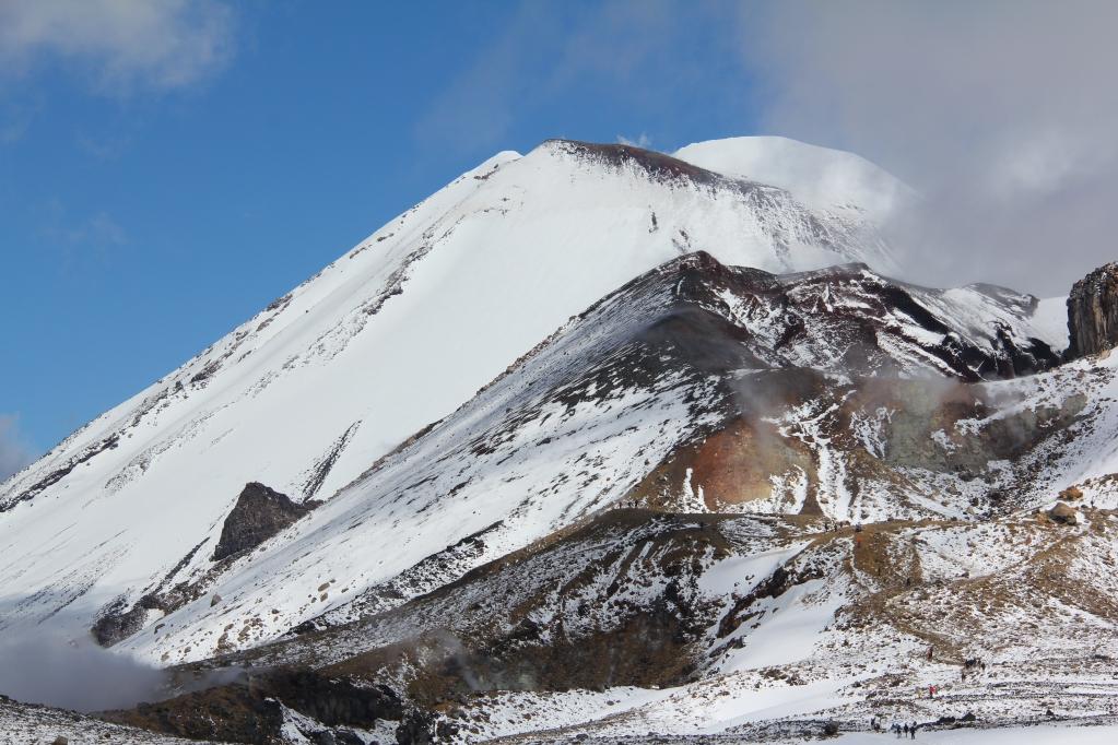 Тонгариро, заключительная - самый красивый однодневный трек в мире