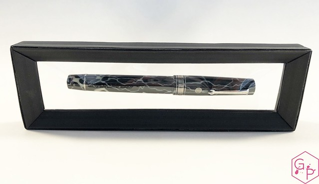 Review @ASCPens Bologna Wild Dark Side Fountain Pen - Magic Flex 4