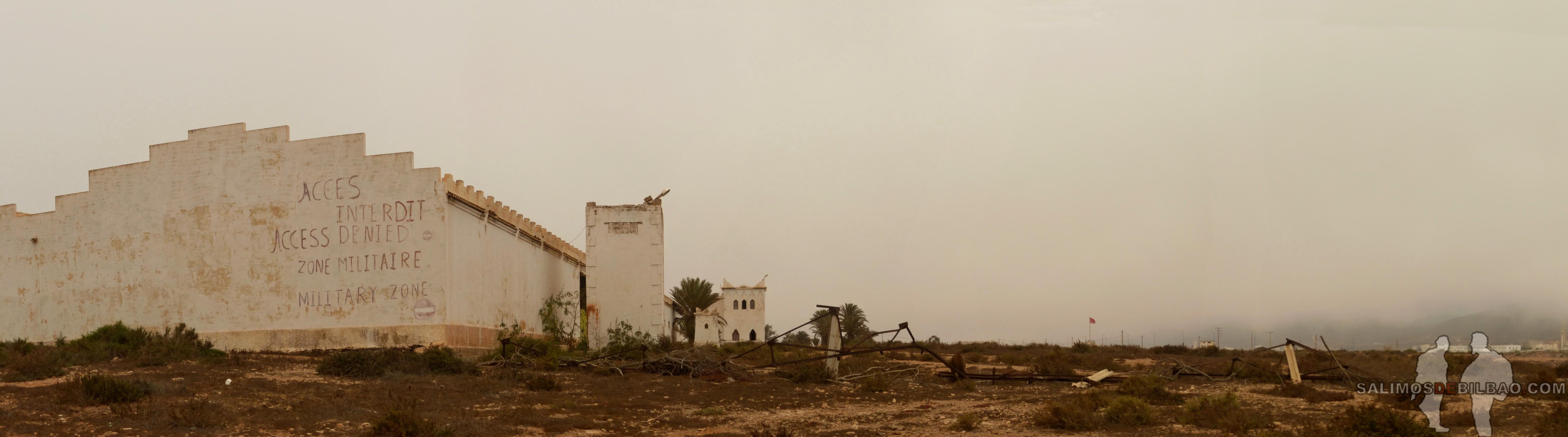 344. Pano, Camino de Sidi Ifni a Legzira