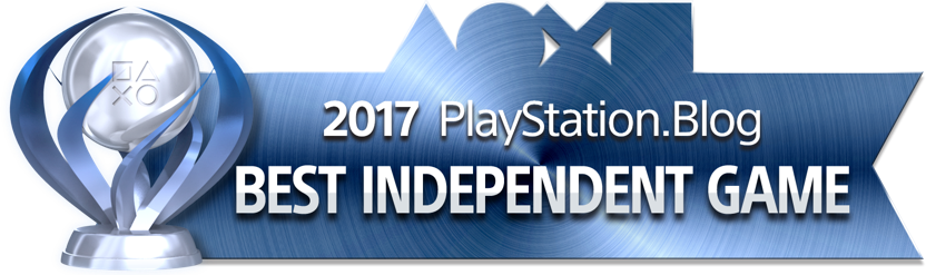 PlayStation Blog Game of the Year 2017 - Best Independent Game (Platinum)