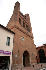 FR10 8961 L'église Notre-Dame de l'Assomption. Villefranche-de-Lauragais, Haute-Garonne