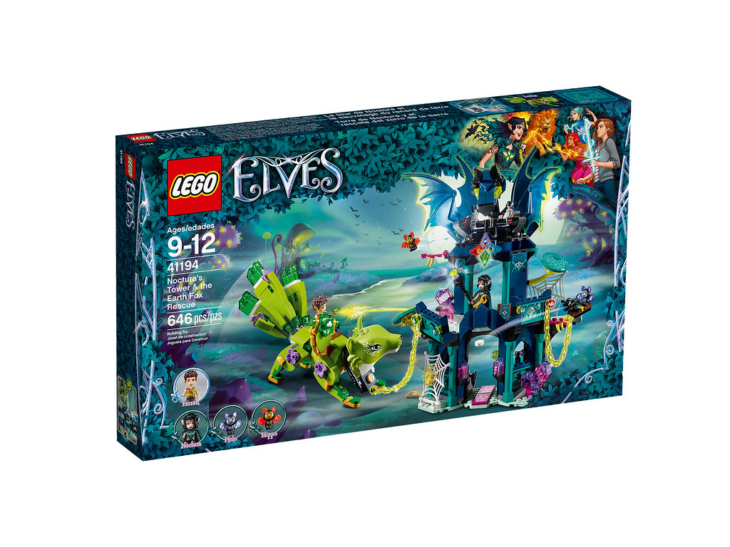 LEGO Elves 41194 - Noctura's Tower and the Earth Fox Rescue