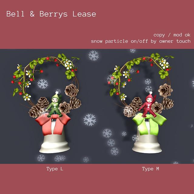 *NAMINOKE*Bell&Berry Lease