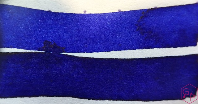 Ink Shot Review Diamine Sapphire Blue @BureauDirect 5