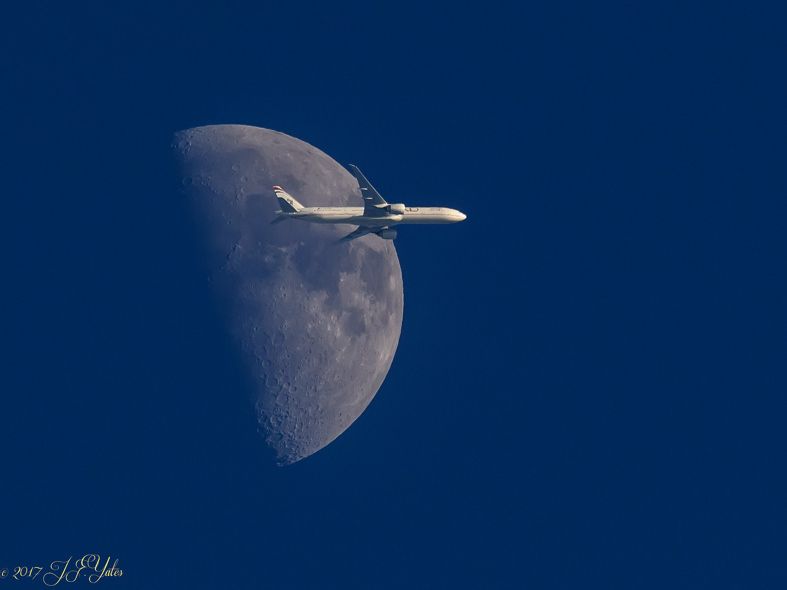 Moon Fly by