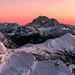Sunrise on Civetta by methariorn78