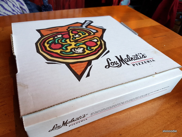 Lou Malnati's pizza box