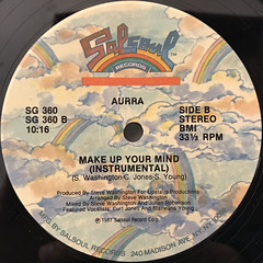 AURRA:MAKE UP YOUR MIND(LABEL SIDE-B)