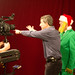 Director Tim Banker giving directions
