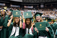 """College of Tropical Agriculture and Human Resources graduates at UH Manoa's fall commencement ceremony on  December 16.  For more photos go to the CTAHR's Flickr site at: <a href=""""https://www.flickr.com/photos/ctahr/sets/72157661767887417"""">www.flickr.com/photos/ctahr/sets/72157661767887417</a>"""