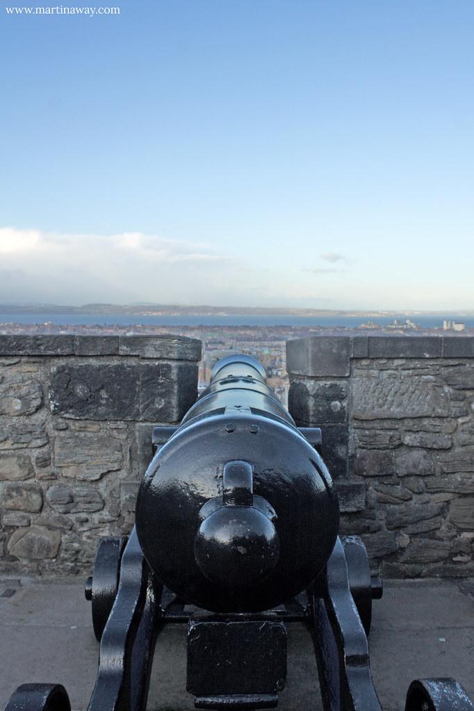 Argyle Battery, Castello di Edimburgo