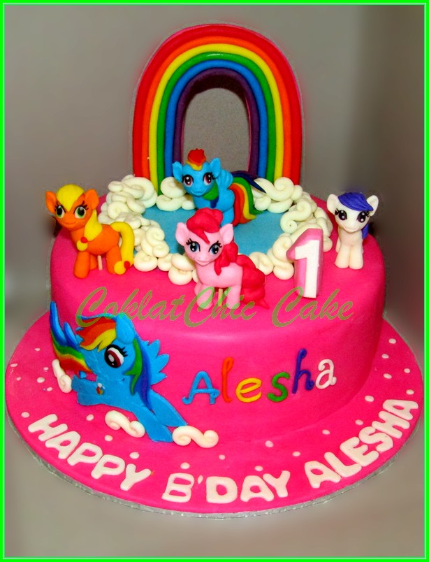 Cake My Little Pony ALESHA 15cm