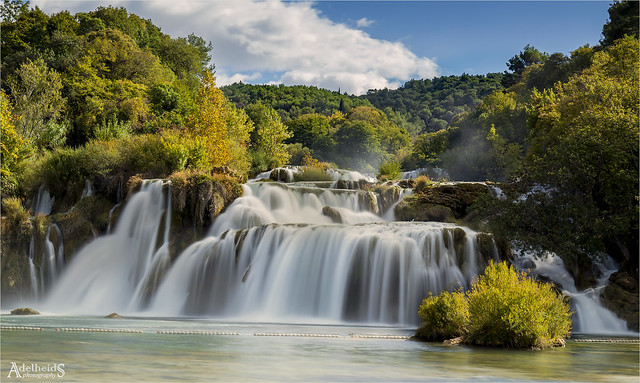 Krka Waterfall, Croatia