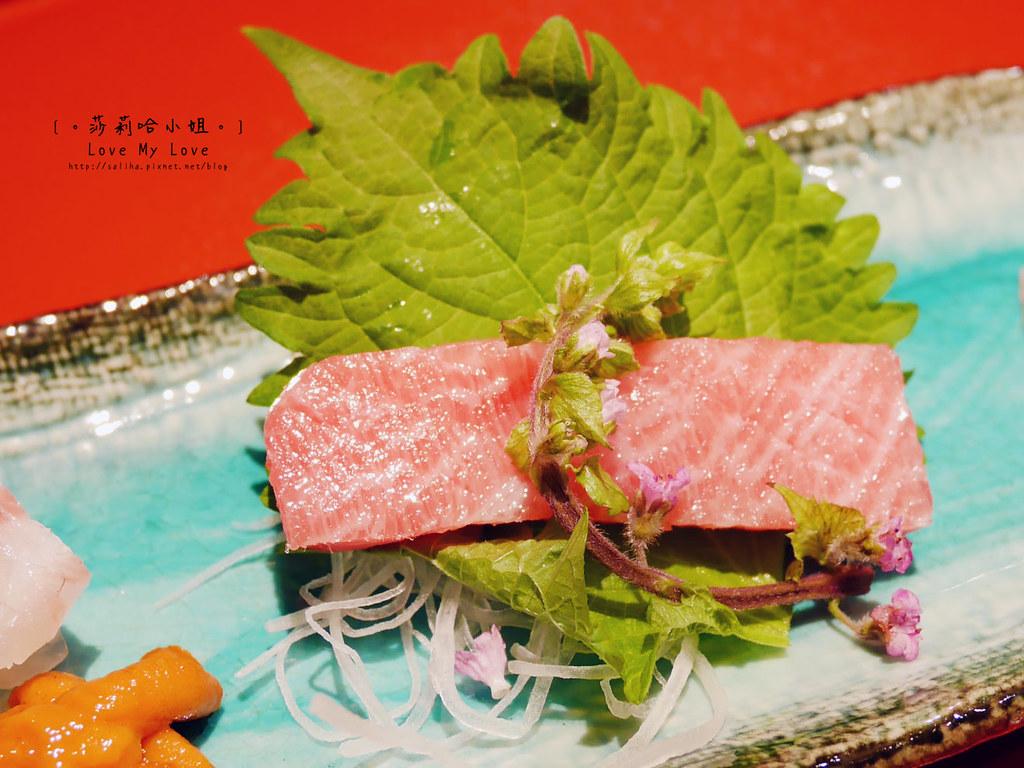 光琳割烹日本料理大安店生魚片 (2)