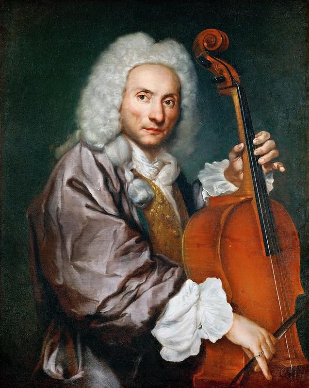 Giacomo Ceruti - Portrait of a Cellist (c.1750)