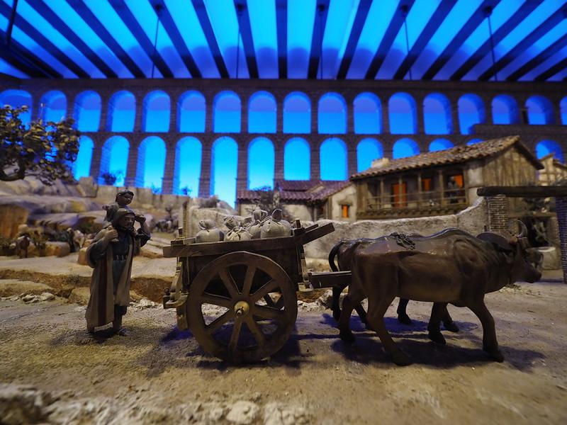 15-12-2017 - Belén Monumental ambientado en la ciudad de Segovia