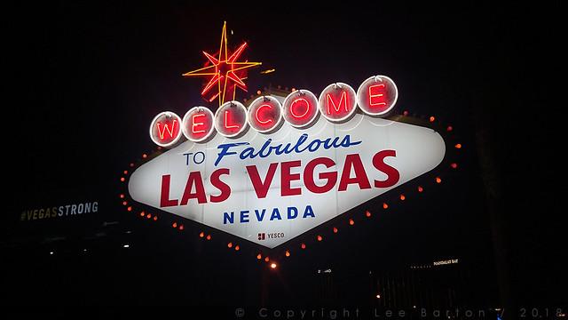 Las Vegas at Night - 7 November 2017
