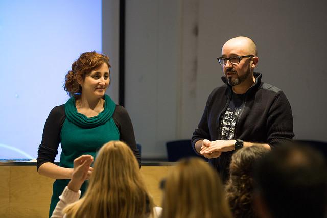 Presentació del Programa de cultura digital al Seminari TAC