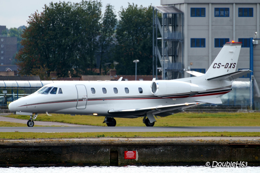 CS-DXS Citation Netjets LCY