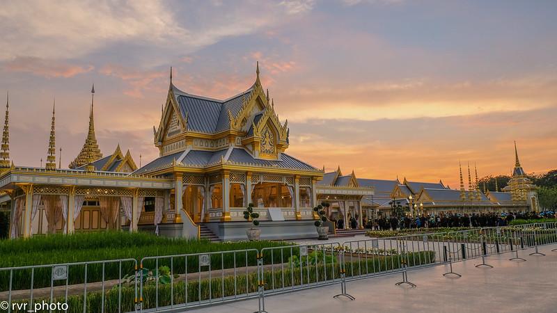 Pabellón Crematorio del rey de Tailandia