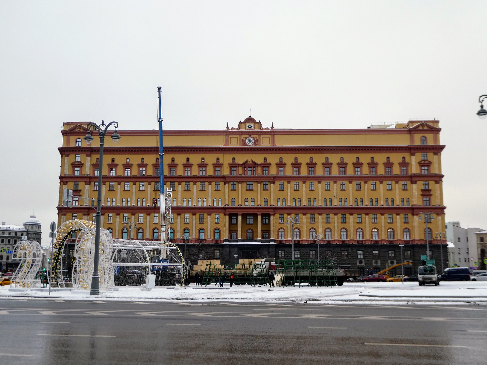 The former KGB Building, Lubyanka Moscow
