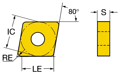 10 pcs SANDVIK carbide inserts CNMG 431-PM CNMG 120404-PM Grade 4225