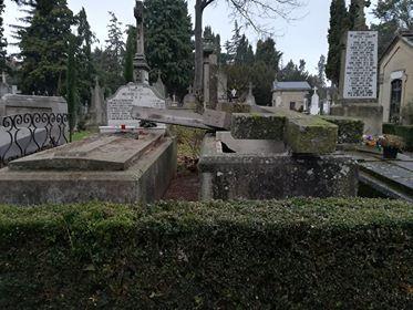 desperfectos cementerio Santa Isabel