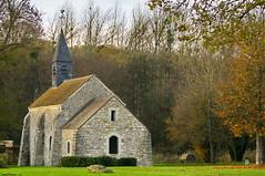 La chapelle médiévale Notre Dame des Marais